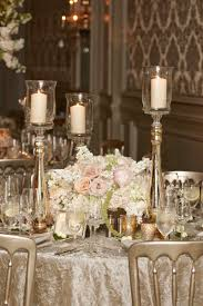 Candle Lighting Chicago Elegant Wedding With Blush Ivory And Gold Palette In Chicago