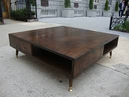 Diy Large Square Coffee Table by Mid Century Modern Coffee Table Decor Tedxumkc Decoration