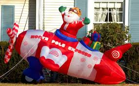 Outdoor Inflatable Christmas Ornaments by Inflatable Christmas Decorations
