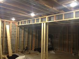 finishing basement maibe we u0027re crazy