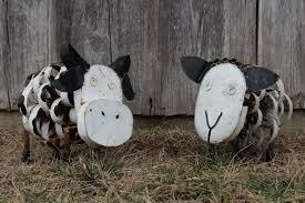 Goat Home Decor Metal Garden Art Sheep Home Outdoor Decoration