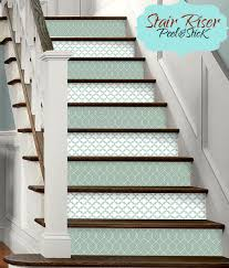 15pc stair riser vinyl strips removable sticker peel u0026 stick