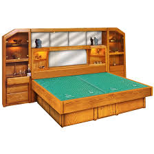 Water Bed Frames Wall Unit Wood Frame Waterbed