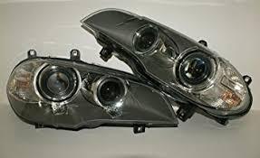 bmw x5 headlights amazon com bmw x5 e70 facelift lci bi xenon led headlights front