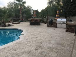 Poolside Designs Arizona Backyard Landscape Design Staycation Ready In Queen Creek