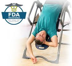 how to decompress spine without inversion table fda registered inversion tables relieve back pain teeter com