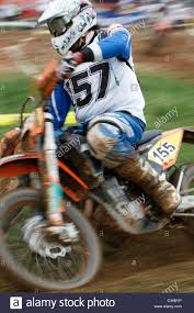 motocross race motocross race in the campaign of turin stock photo royalty free