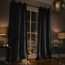 Black Curtains For Bedroom 9 Best Velvet Images On Pinterest Velvet Curtains Bedroom Ideas