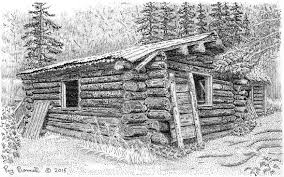 cabin at byers lake is a reminder of alaska u0027s trapping legacy