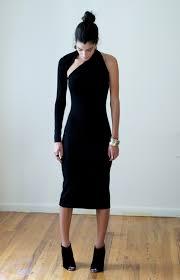 black dress one shoulder dress lbd little black dress