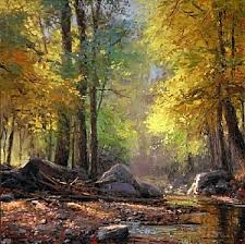 Light And Landscape - warm light makes cooler shadows fineartviews blog by faso