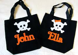 personalized trick or treat bags personalized trick or treat bag baby toddler