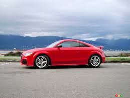 2012 audi tt rs car reviews auto123