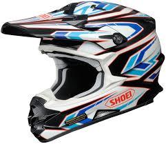 motocross helmets sale shoei vfx w block pass motocross helmet black white blue