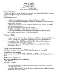 Sap Security Consultant Resume Samples Sap Security Analyst Resume Isu Billing And Invoice Consultant