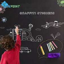 online shop 45 60cmx200cm removable vinyl blackboard stickers online shop 45 60cmx200cm removable vinyl blackboard stickers creative pvc draw decor mural decals chalkboard wall sticker for kids rooms aliexpress