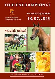 Pferdezentrum Bad Saarow Calaméo Fohlenchampionat 2015
