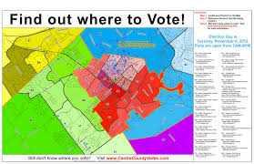 New Orleans State Map by Where To Vote On Election Day Onward State