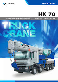 hk 70 tadano faun pdf catalogue technical documentation