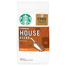 starbucks house blend ground coffee 200g tesco groceries