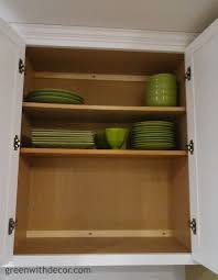 green with decor get extra storage in kitchen cabinets with