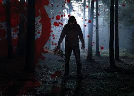 halloween horror nights fear spooky forest dead trees mystic halloween stock photo 566088586