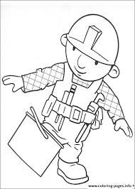 bob builder 26 coloring pages printable