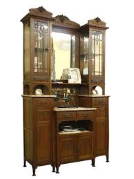 Wohnzimmerschrank Kaufen Ebay Buffetschrank Küchenschrank Schrank Jugendstil Um 1900 Eiche