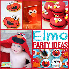 elmo party ideas sesame party ideas for an elmo party mimi s dollhouse