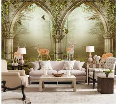 Large Wall Murals Wallpaper by Online Get Cheap Forest Wall Mural Aliexpress Com Alibaba Group