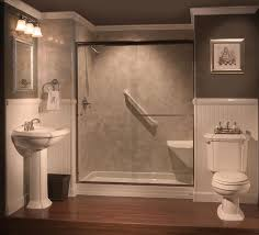 bathroom what wall color goes with dark brown tile what color