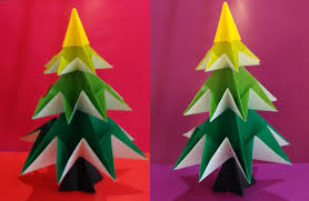 easy origami tree jo nakashima decoration