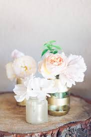 diy gold and glitter vases tutorial