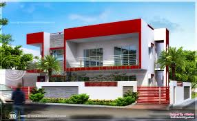 195 square meter modern contemporary home indian house plans