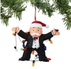 enesco ornaments mr monopoly ornament 4045098