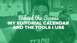 behind the scenes u2014my editorial calendar and the tools i use u2013 spi