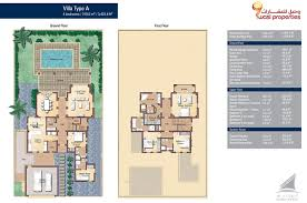 villa floor plan view floor plan live dubai creek resort