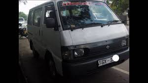 nissan vanette modified nissan vanette van for sale adsking lk youtube