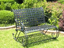 Black Rod Iron Patio Furniture Vintage Wrought Iron Garden Bench Default Name Lowes Black Wrought