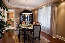 formal dining room decorating ideas brown finish mahogany wood leaf dining table formal dining