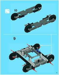 lego excavator instructions 42006 technic