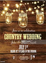 country and western invitation design template with oval string