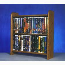Oak Dvd Storage Cabinet Model 207 Vhs Dvd Storage Rack