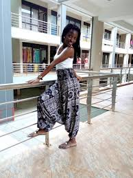 African jumpsuit pant jumpsuit yoga pant Evening wear summer
