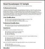 Sample Housekeeper Resume by Hotel Housekeeping Resume Sample Housekeeping Resume Skills Sample