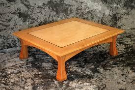 Cherry Wood Coffee Tables For Sale Torii Coffee Table Cherry Ebony And Birds Eye Maple U003e Montana