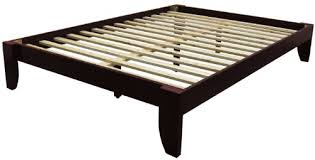 King Wood Bed Frame Copenhagen All Wood Platform Bed Frame King Medium