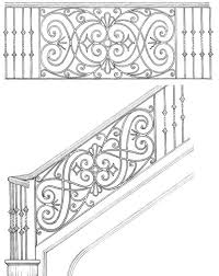 wrought iron originals iron railings for stairs buy factory