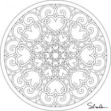 get this abstract coloring pages to print for grown ups 74512