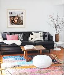 Decorating Around A Leather Sofa Centsational Style - Leather sofa interior design